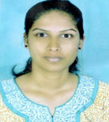 Tejaswini H. V |  8th Rank |  IT | 80.64%
