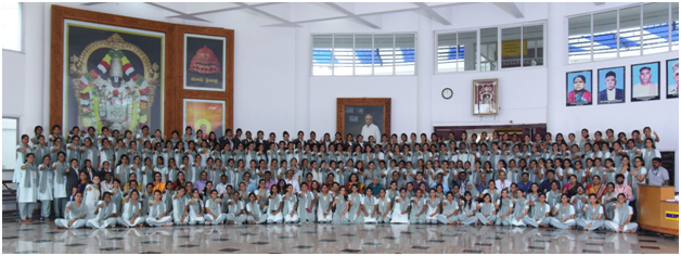 Group Photo of Placed students of 2019 with Management | GSSSIETW
