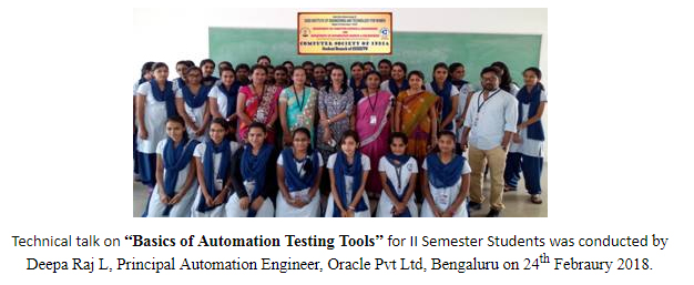 "Technical Talk on ""Basics of Automation Testing Tools"""
