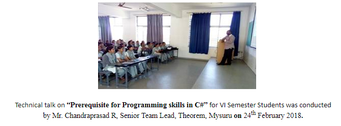 "Technical Talk on ""Prerequisite for Programming skills in C#"""