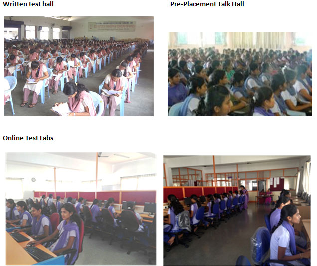 Written test hall | Pre-placement talk hall | GSSSIETW