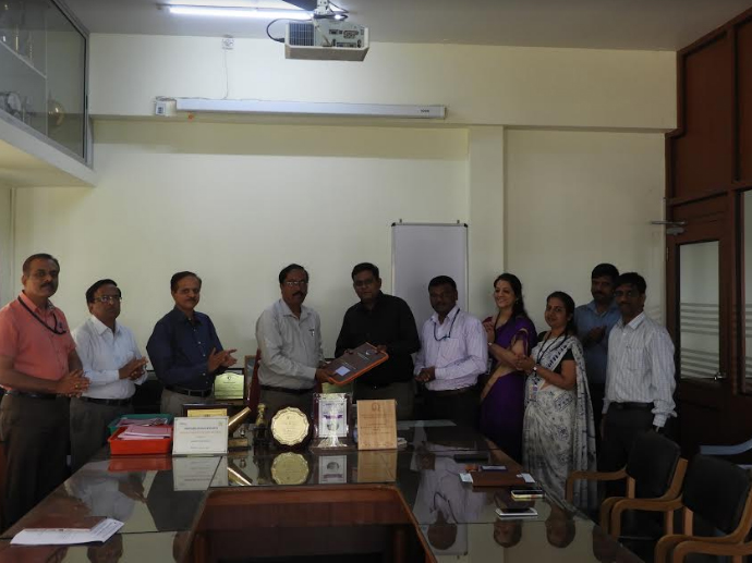MOU between GSSSIETW and Kaynes Technology, Mysuru