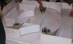 Maze solving robots