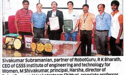 GSSSIETW ties up with RobotGuru