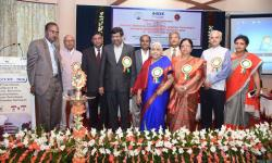 Inauguration of the International Conference ICEECCOT- 2016 by the Joint Secretary GSSS(R) Sri Pratap Kumar O,  CEO GSSS(R) Sri R K Bharath and AAO GSSS(R) Smt Anupama B Pandit