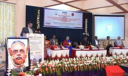 Addressing the gathering by the Special Guest of Honor Hon'bleVice Chancellor Dr. Karisiddappa