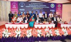 Session Chairs and diginitaries during inaugral function of ICEECCOT-2017 on 15th December 2017