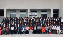 Group Photo of Students of 2nd Semester MBA with all the industry experts Ed Touch on 28th April 2018