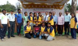 GSSS Institute of Engineering Technology for Women Mysuru has won in VTU Rest of Bangalore - Zone Ball Badminton tournament