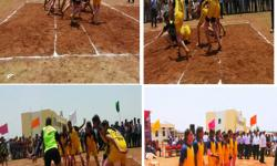 VTU Inter Collegiate Kabaddi Tournament Held at VSMIT Nipani on 19th April 2017