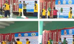 VTU Single Zone Inter Collegiate Weight Lifting Power Lifting Tournament Held at SIT Tumkur on 15th to 17th September 2017