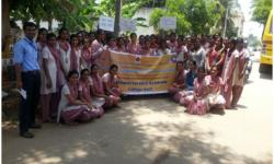 """Women Empowerment and Cleanliness Awareness"" - at Belavatha Village on 29th April 2015"