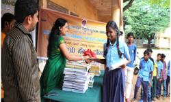 Book Donation to Government Schools, at GSSSIETW, Mysuru on 11th April 2015.